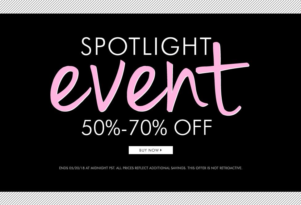 May 20 - Spotlight Event - BUY