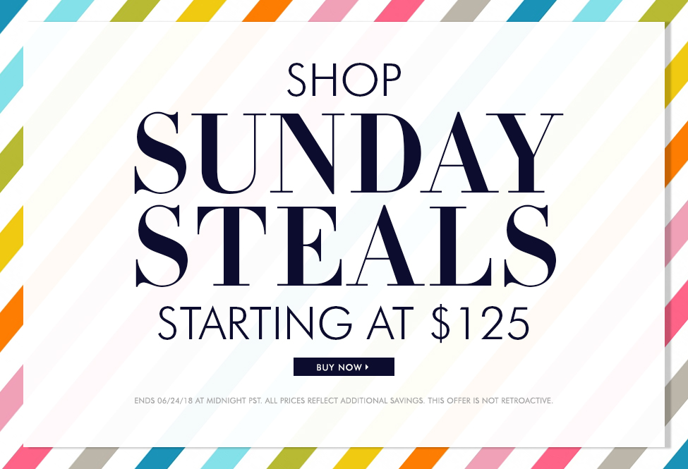 June 24 - Sunday Steals - BUY