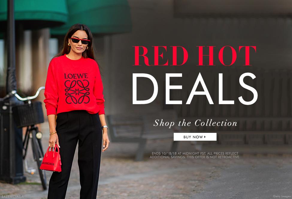 Oct 18 - Red Hot Fall Deals - BUY