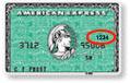 American Express cvn