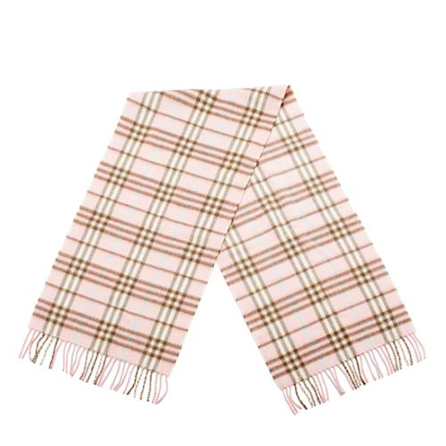 Burberry Cashmere Check Small Scarf