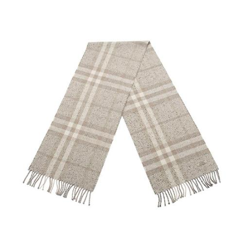Burberry Cashmere Lambswool Check Scarf