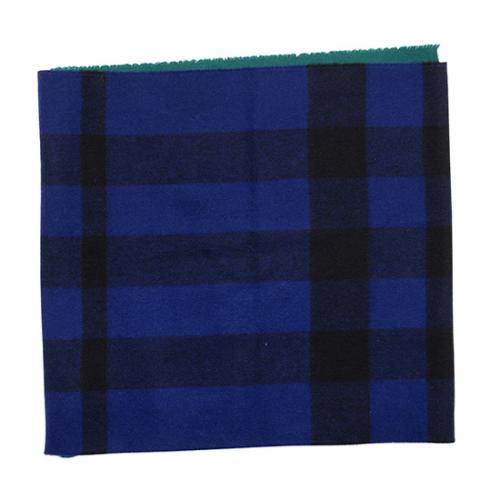 Burberry Cashmere Wool Check Snood
