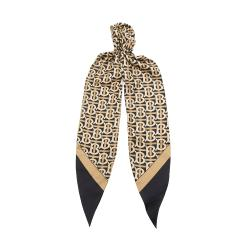 Burberry Silk Logo Hair Scarf