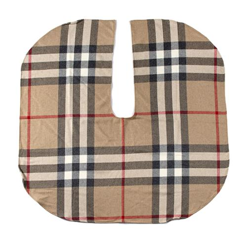 Burberry Wool Nova Check Ruana