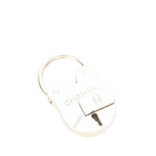 Chanel CC Cambon Padlock Charm