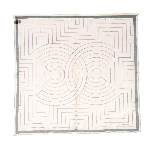 Chanel Printed Cotton Scarf