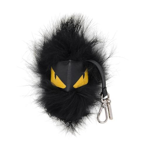 Fendi Fox Fur Dracula Man Monster Bag Charm