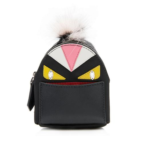 Fendi Fur Monster Backpack Bag Charm