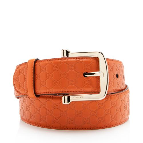 Gucci Microguccissima Belt - Size 34 / 85