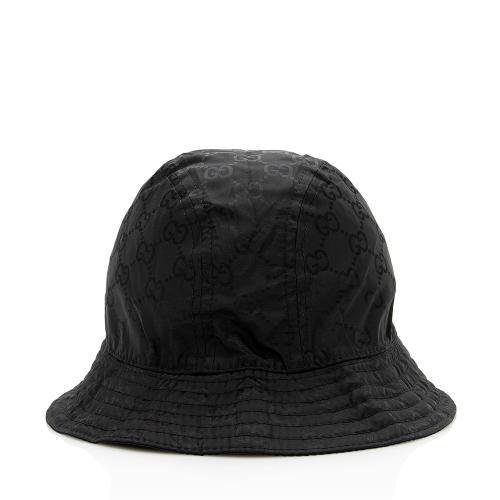 Gucci Nylon Web Bucket Hat - Size M