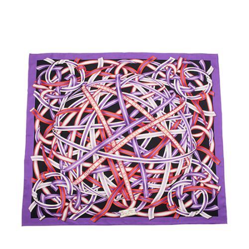 Gucci Silk Ribbon Scarf