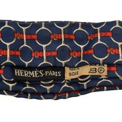 Hermes Vintage Ascot Silk Scarf
