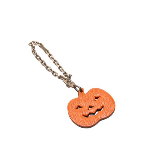 Hermes Pumpkin Bag Charm
