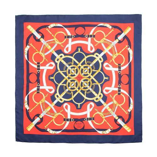 Hermes Silk Eperon d'or Scarf