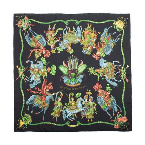 Hermes Silk Les Fetes Du Roi Soleil Scarf