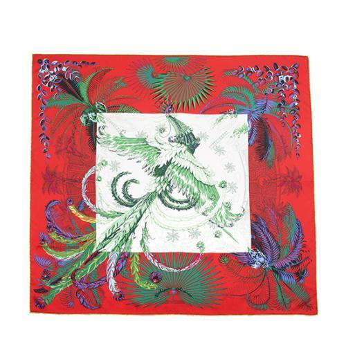 Hermes Silk Mythiques Phoenix Scarf