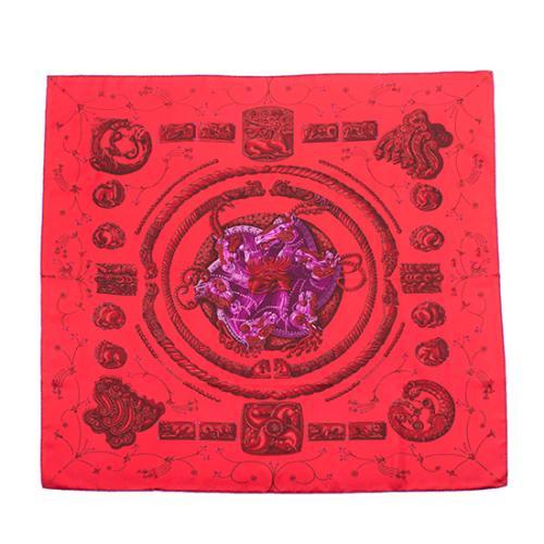 Hermes Silk Ors Nomades Scarf