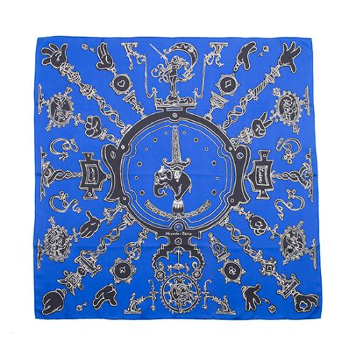 Hermes Silk Serio Ludere Scarf