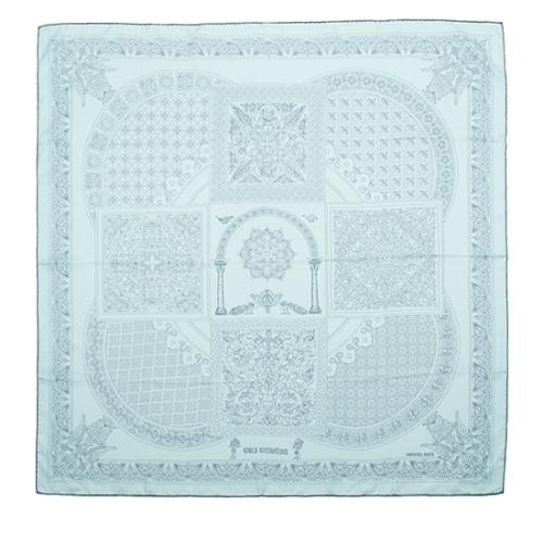 Hermes Vintage Silk Ciels Byzantins Scarf