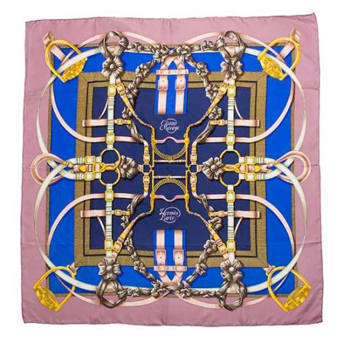 Hermes Vintage Silk Grand Manege Scarf - FINAL SALE