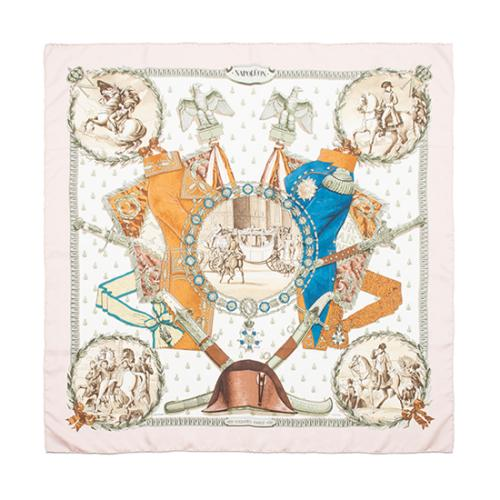 Hermes Vintage Silk Napoleon Scarf