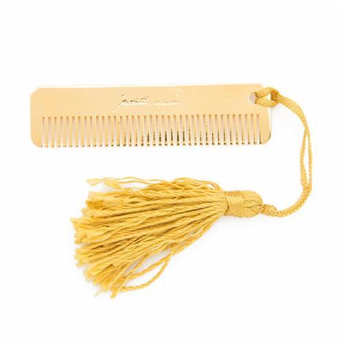 Judith Leiber Brass Comb