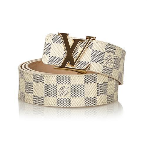 Louis Vuitton Damier Azur Initiales Belt - Size 44 / 110