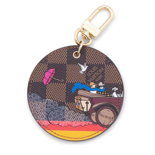 Louis Vuitton Damier Ebene Illustre Evasion Bag Charm