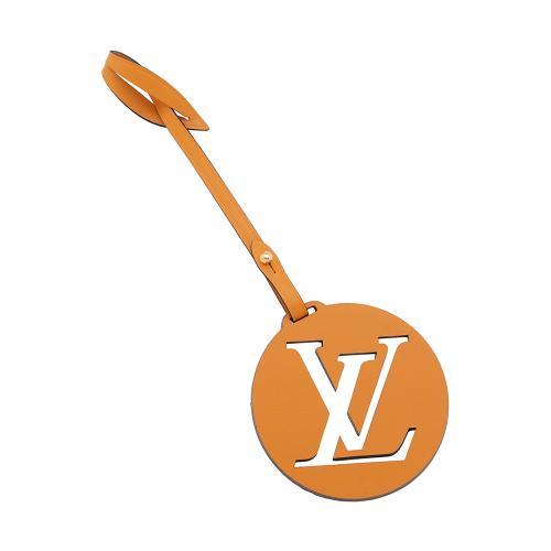 Louis Vuitton Leather LV Bag Charm