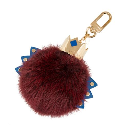 Louis Vuitton Limited Edition Fur Totem Bag Charm