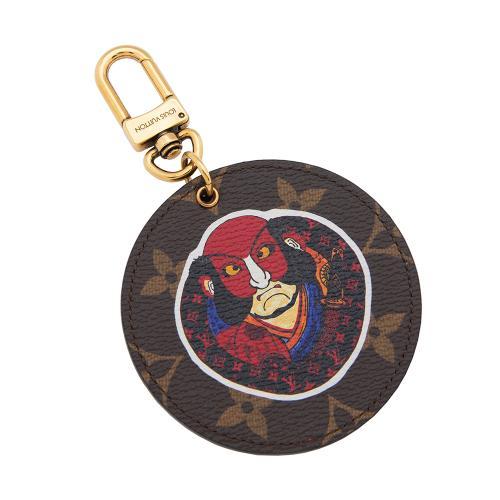 Louis Vuitton Limited Edition Monogram Canvas Kabuki Bag Charm