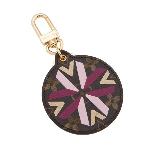 Louis Vuitton Monogram Canvas Illustre Multi V Bag Charm