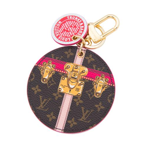 Louis Vuitton Monogram Canvas Summer Trunks Bag Charm