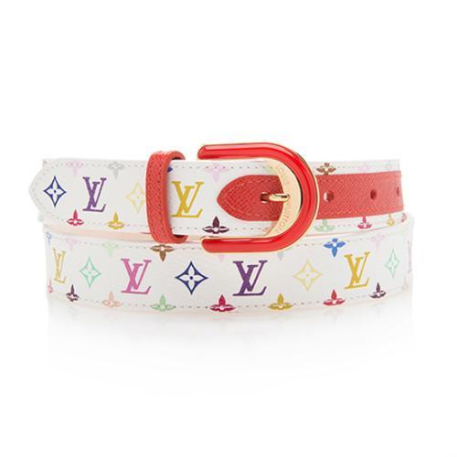 8638540b1326 Louis-Vuitton-Monogram-Multicolore-Belt--Size-32-80 91260 front large 0.jpg