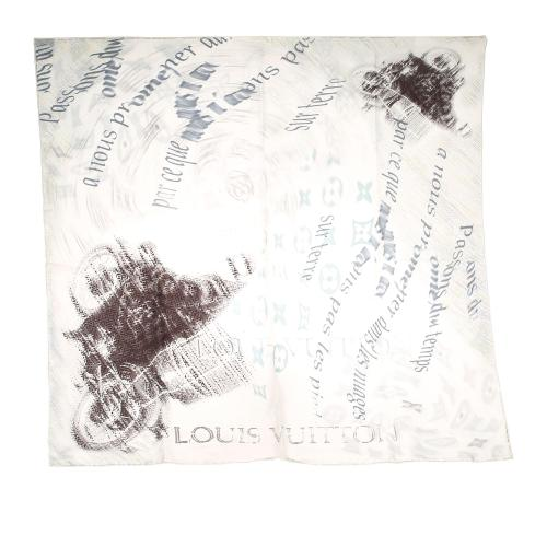 Louis Vuitton Monogram Silk Scarf