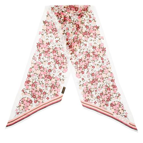 Louis Vuitton Silk Floral Scarf