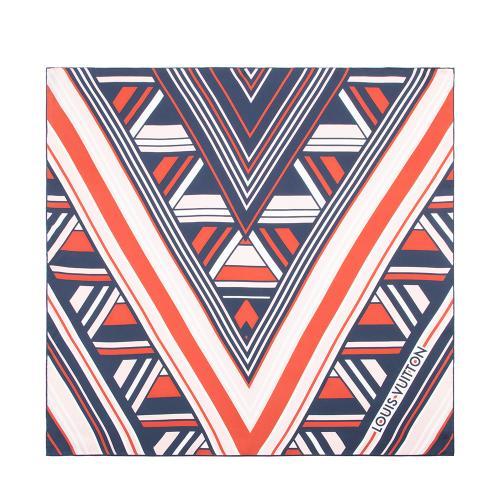 Louis Vuitton Silk Illusion Scarf