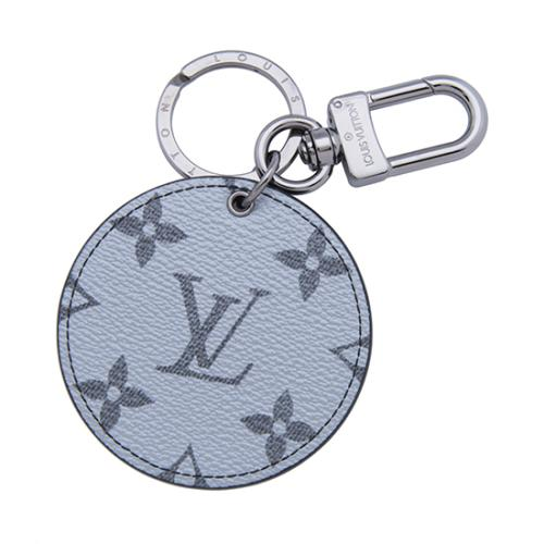 Louis Vuitton Silver Monogram Canvas Bag Charm