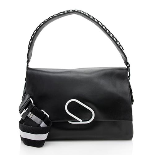 3.1 Phillip Lim Leather Alix Oversized Shoulder Bag