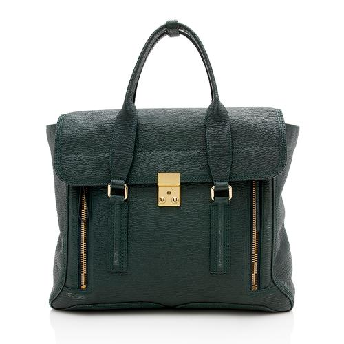 3.1 Phillip Lim Leather Pashli Large Satchel
