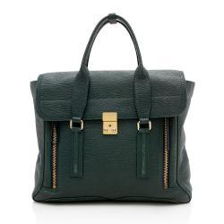 3.1 Phillip Lim Leather Pashli Large Satchel
