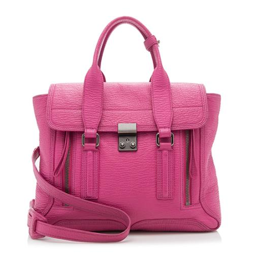 3.1 Phillip Lim Leather Pashli Medium Satchel