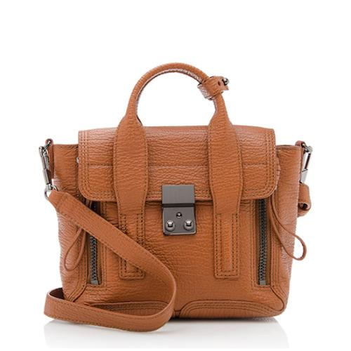 3.1 Phillip Lim Leather Pashli Mini Satchel