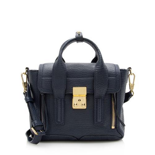 3.1 Phillip Lim Metallic Leather Pashli Mini Satchel