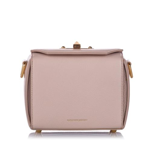 Alexander McQueen Leather Box 16 Crossbody Bag