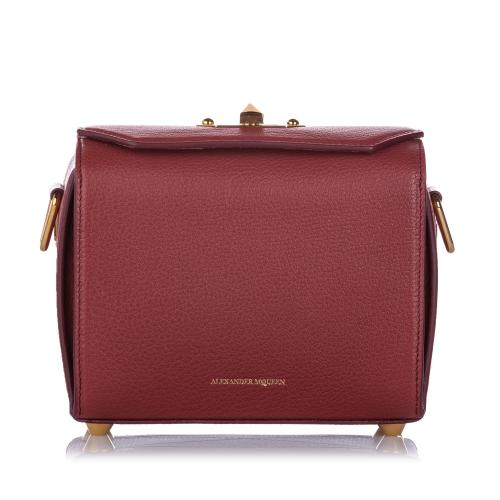 Alexander McQueen Leather Box 19 Crossbody Bag