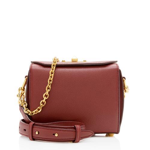 Alexander McQueen Leather Box Shoulder Bag