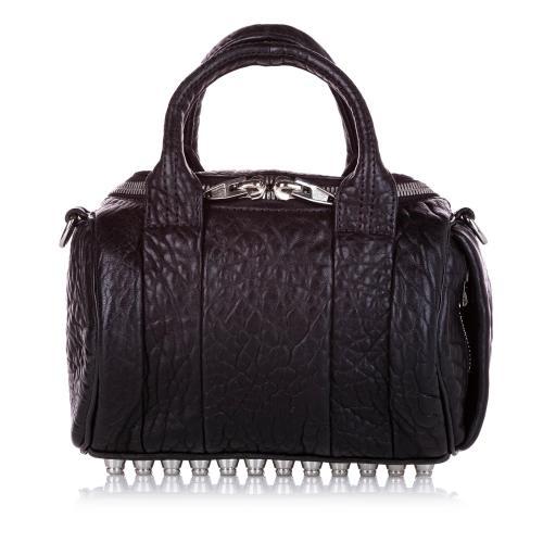 Alexander McQueen Rockie Leather Satchel