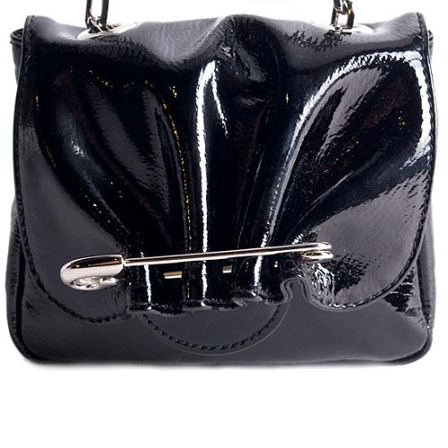 Alexander McQueen Safety Pin Shoulder Handbag